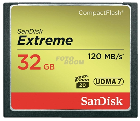 CompactFlash EXTREME 32Gb 120Mb/s